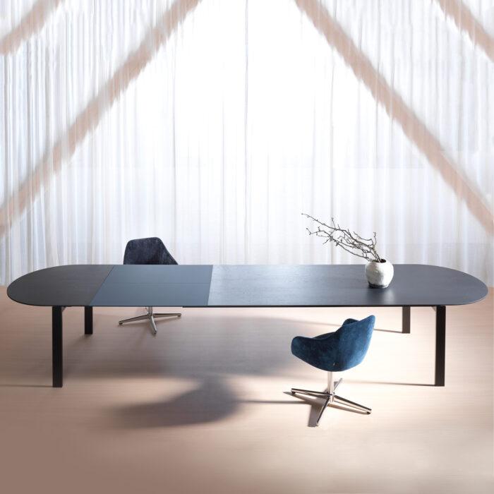 Tisch Anton Eiche schwarz
