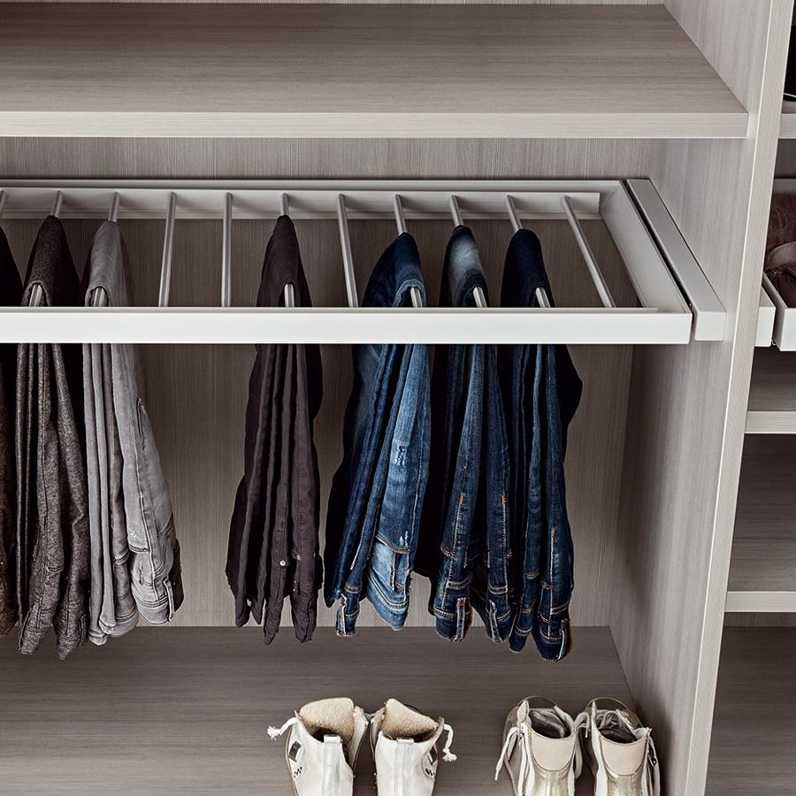 Kleiderschrank Tiefe Standard. Flanell Bettwäsche