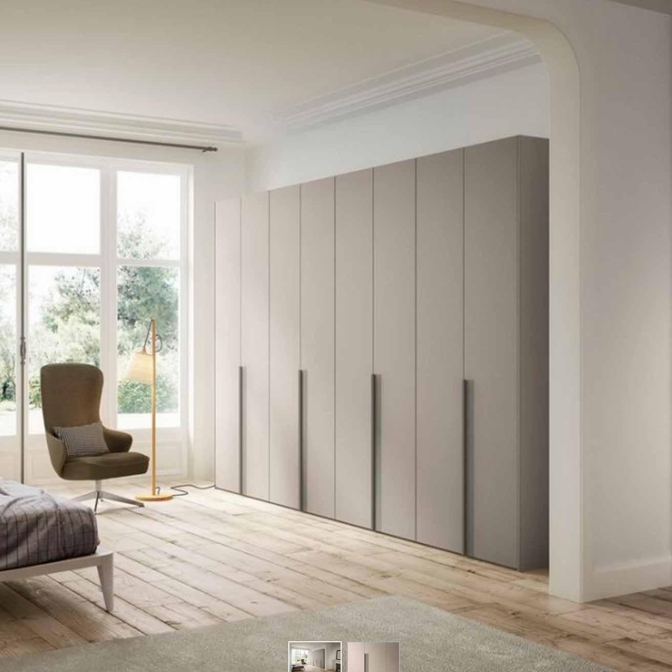 senzatempo von morassutti snap kleiderschrank m bel b r ag. Black Bedroom Furniture Sets. Home Design Ideas