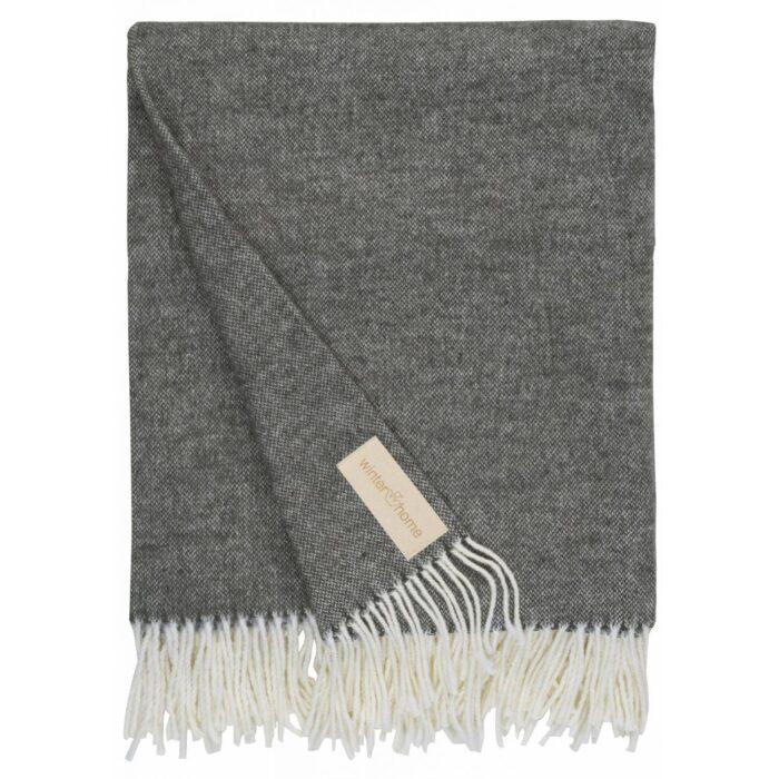 Winter Decke Scarlett grey