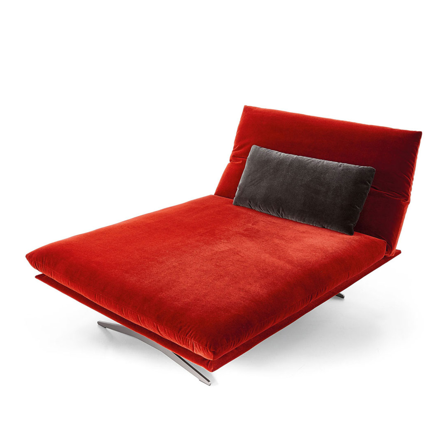 Koinor Sofa Francis In Rot Fashion Stoff Mobel Bar Ag