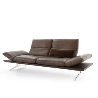 Koinor Sofa Francis In Rot Leder Mobel Bar Ag