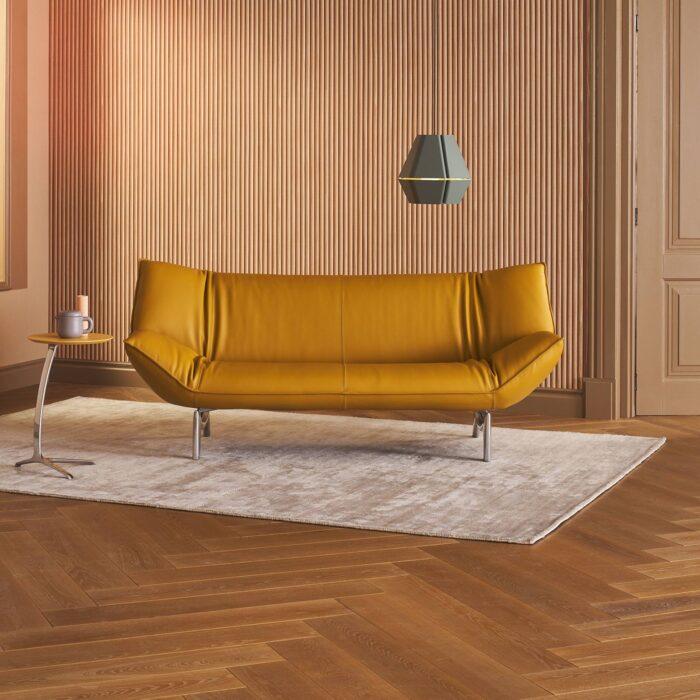 Leolux Sofa Tango gelb