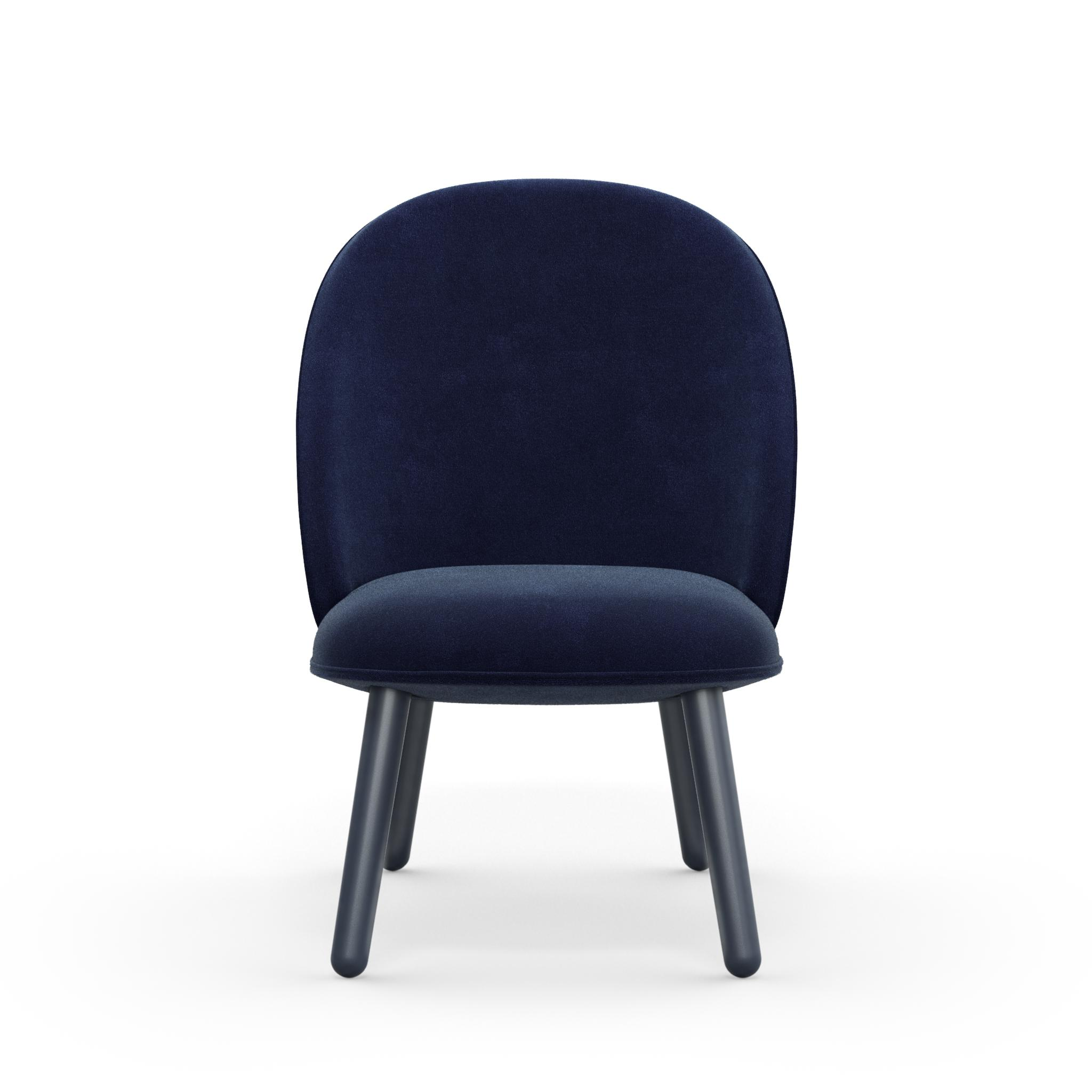 Normann Copenhagen Ace Lounge Chair Blau Möbel Bär Ag