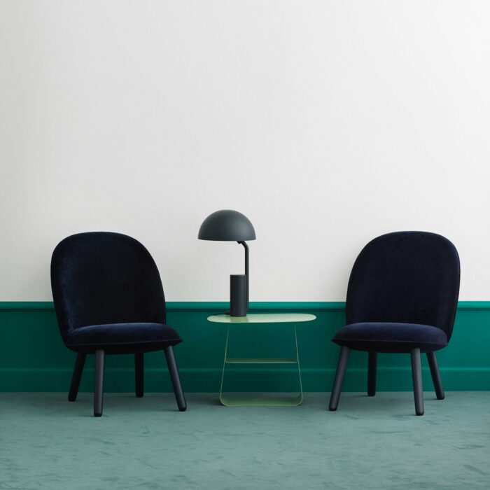 Normann Copenhagen Ace lounge chair blau
