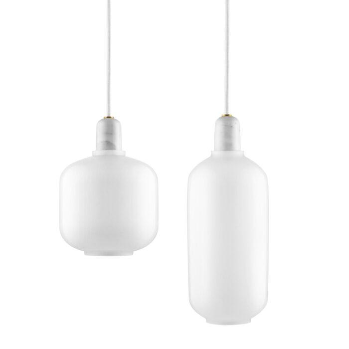 Normann Copenhagen Amp Lampe weiss