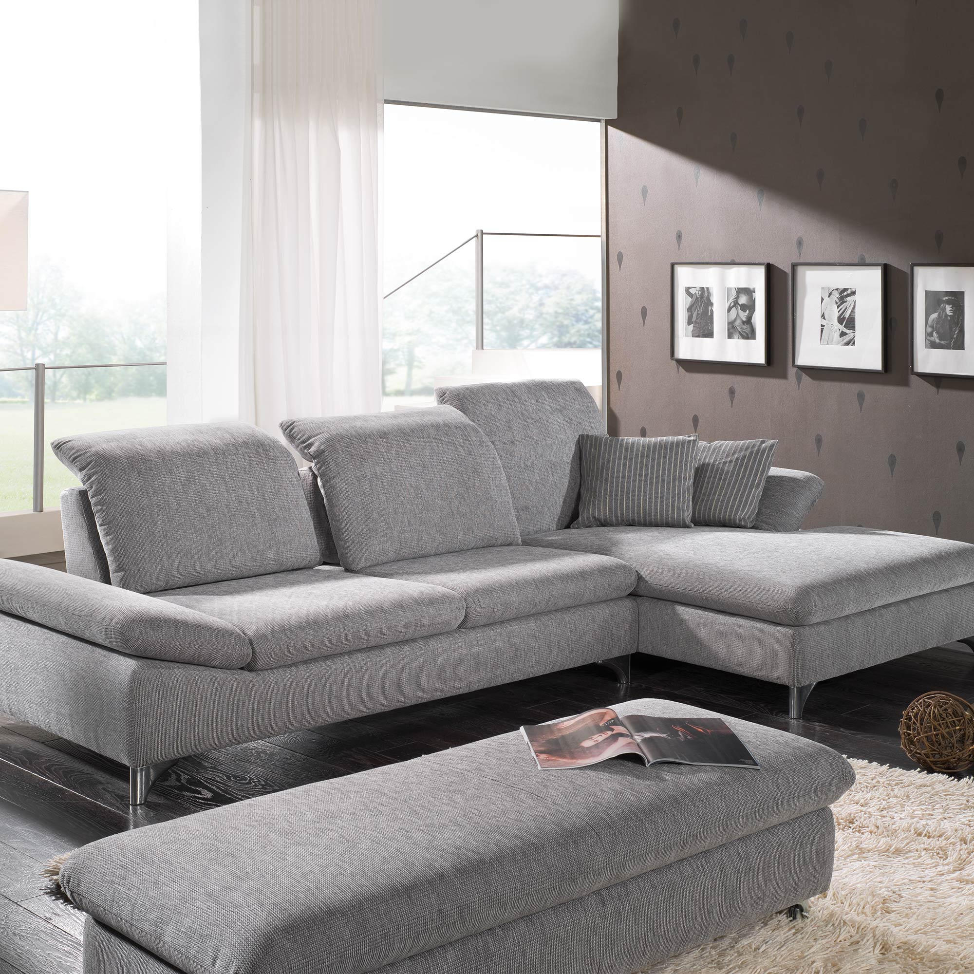 enjoy sofa von w schillig m bel b r ag. Black Bedroom Furniture Sets. Home Design Ideas