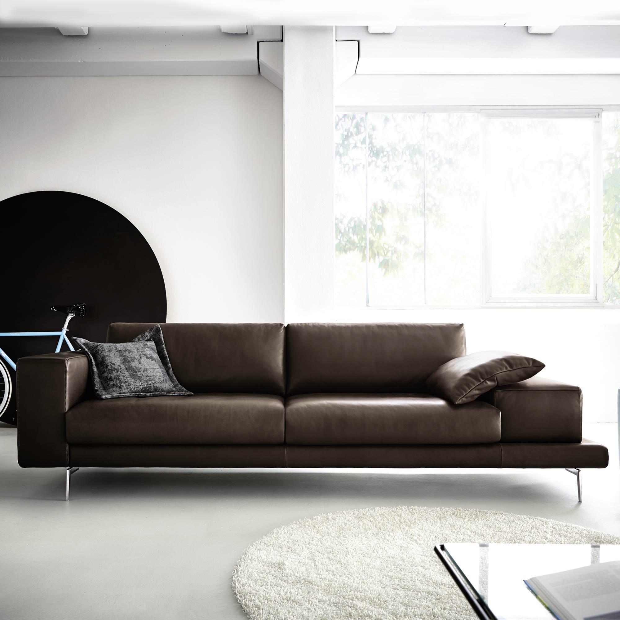 Einzigartig Koinor Möbel Foto Von Omega Sofa Braun