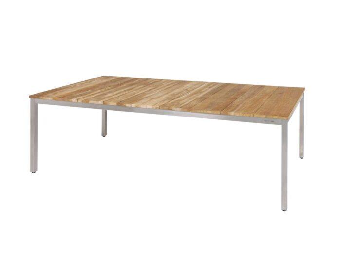 Zebra Naxos Holz-Gartentisch
