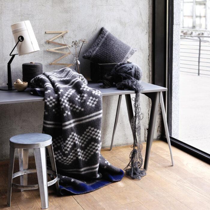 røros tweed Decke Setesdal